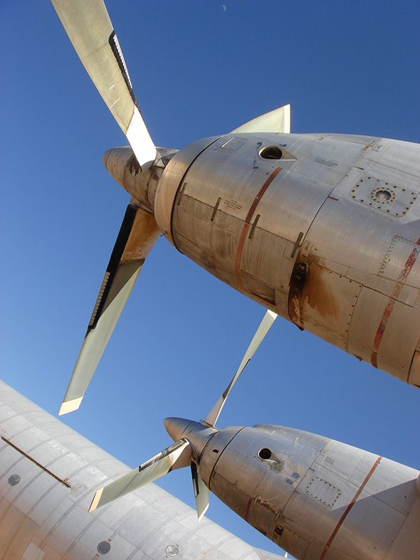Airplane graveyard. Amazing.